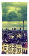 Berlin Skyline And Roofscape Beach Towel