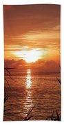 Bermuda Evening Beach Towel