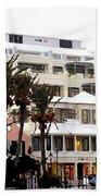 Bermuda Front Street Four Beach Sheet