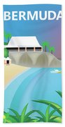 Bermuda Horizontal Scene Beach Towel