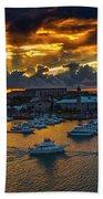 Bermuda Sunset Beach Towel