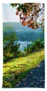 Bernharts Dam Fall 12-25 Beach Towel
