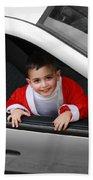 Bethlehem - Little Child During Christmas Festival Beach Towel