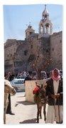 Bethlehem - Nativity Square Demonstration Beach Sheet