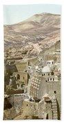 Bethlehem Mar Saba Monastery Beach Towel