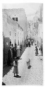 Bethlehem The Main Street 1800s Beach Towel