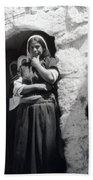 Bethlehemites Women 1900s Beach Towel