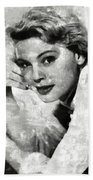 Betsy Palmer Vintage Hollywood Actress Beach Towel
