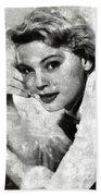 Betsy Palmer Vintage Hollywood Actress Beach Sheet