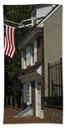 Betsy Ross House Philadelphia Beach Towel