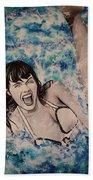 Betty Page Beach Towel