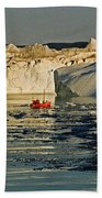 Between Icebergs - Greenland Beach Towel