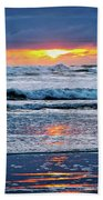 Between The Sky And The Waters Beach Towel