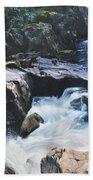Betws-y-coed Waterfall Beach Towel