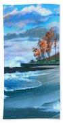 Betzie Lighthouse Beach Towel