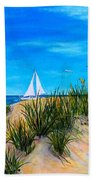 Beyond The Dunes Beach Towel