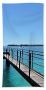 Beyond The Pier Beach Towel