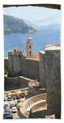 Beyond The Walls Of Old Dubrovnik Beach Towel