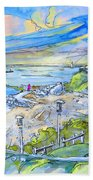 Biarritz 26 Beach Towel
