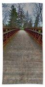 Bicycle Bridge - Niagara On The Lake Beach Towel