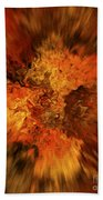 Big Band - Fiery Cloud Beach Towel