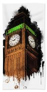 Big Ben In London Beach Towel