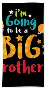 Big Brother Space Theme Light Promotion Beach Towel