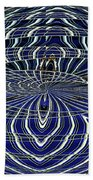Big Building Abstract Beach Towel
