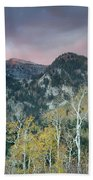 Big Cottonwood Canyon Sunrise Beach Towel