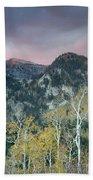 Big Cottonwood Canyon Sunrise Beach Sheet
