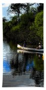 Big Cypress Outing Beach Towel