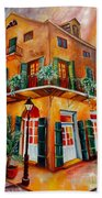 Big Easy Sunset Beach Towel