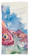 Big Eye Squirrelfish Beach Towel
