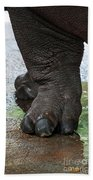 Big Foot Beach Towel