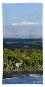 Big Island, Hilo Bay Beach Towel