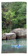 Big Piney Creek 1 Beach Towel