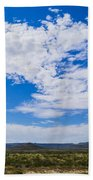 Big Sky In Pecos Valley Beach Towel