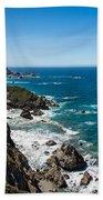 Big Sur Ca Beach Towel
