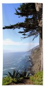 Big Sur Coastline Beach Towel