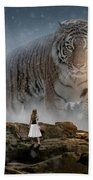 Big Tiger Beach Towel