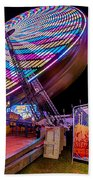 Big Wheel Beach Towel