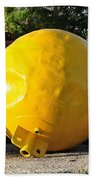 Big Yellow Balls Beach Towel