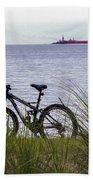 Bike On The Bay Beach Towel