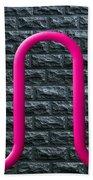 Bike Rack Beach Towel by Paul Wear