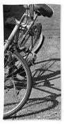 Bike Shadow Beach Towel