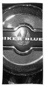 Biker Blues Beach Towel