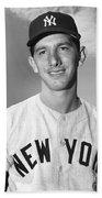 Billy Martin (1928-1989) Beach Towel