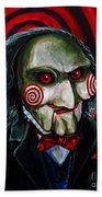 Billy The Puppet Beach Sheet