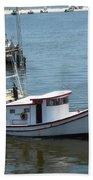 Bilouxi Shrimp Boat Beach Sheet