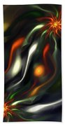 Binary Attractors Beach Towel